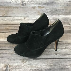 Cole Haan Nike Air Black Suede Ankle Boot